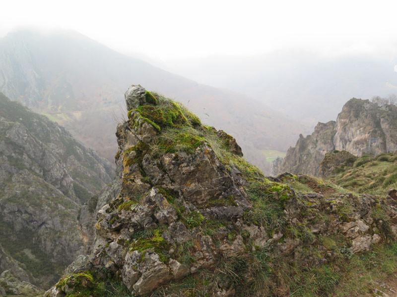 Vistas de los Picos de Europa desde el mirador de Verrunde