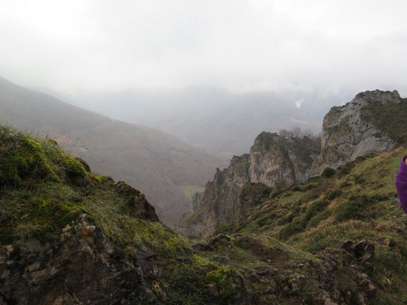 Perspectiva de los Picos de Europa desde el mirador de Verrunde