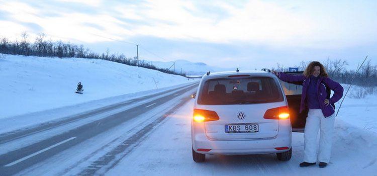 Alquilar un coche en Kiruna