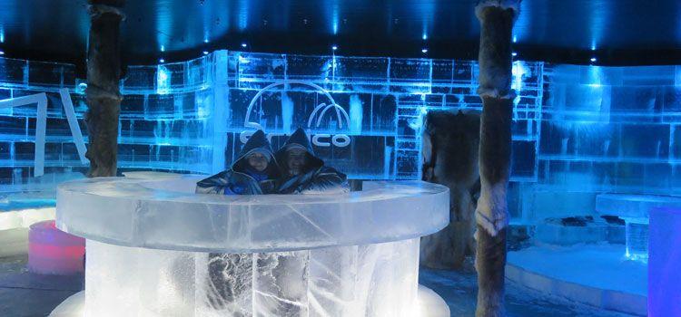Ártico Ice Bar - Un proyecto de José y Gloria