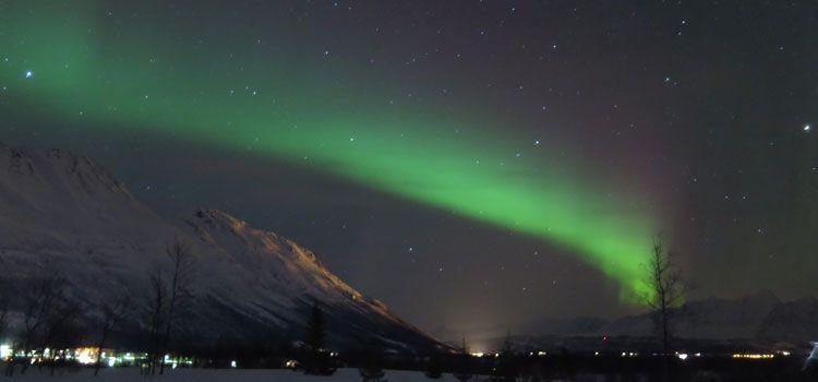 Auroras boreales en Tromsø