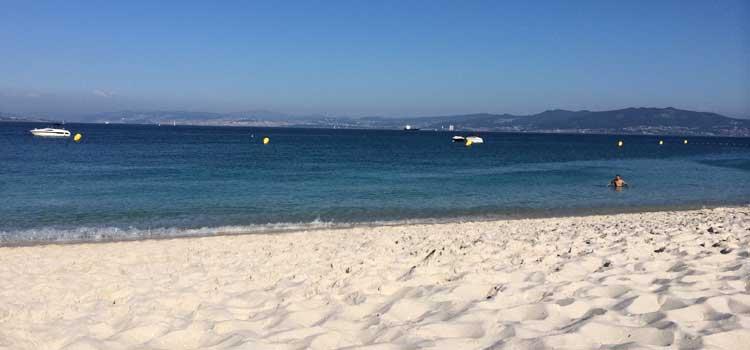 Playa de Rodas, dormir en las Islas Cíes