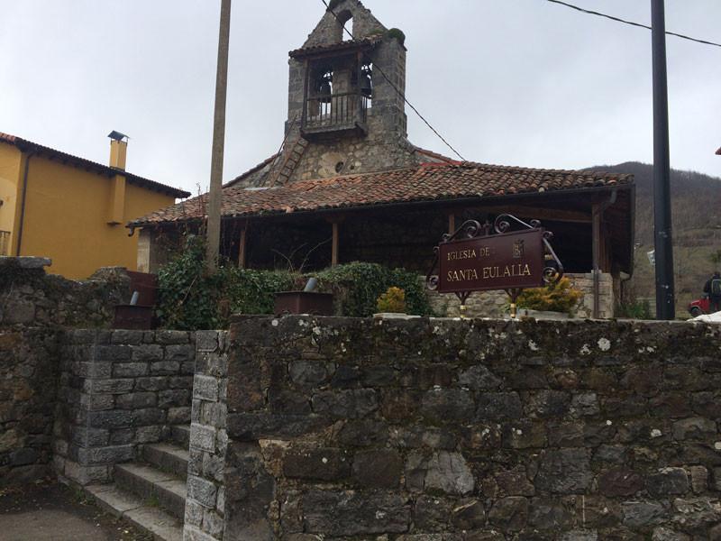 Iglesia de Santa Eulalia en Posada de Valdeón
