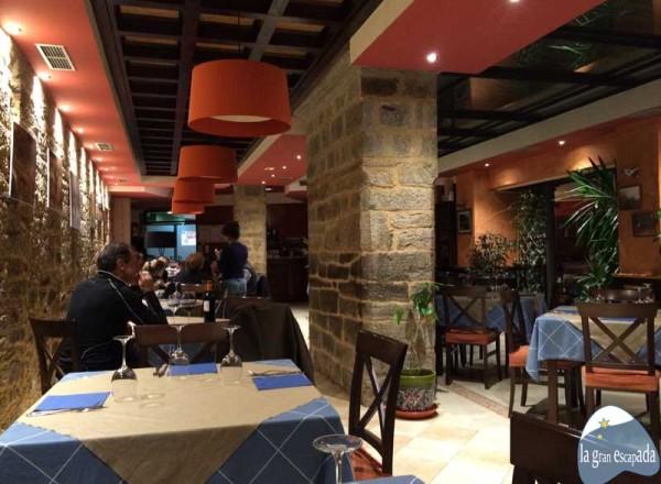 Salón del restaurante Remesal