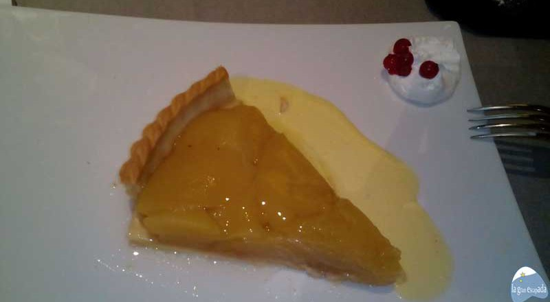 Tarta de manzana de Los Galayos