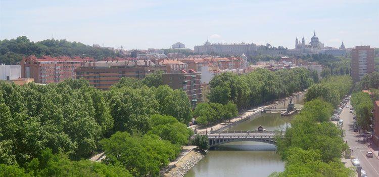 Panorámica de Madrid desde el teleférico de Madrid